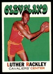 1971 Topps #88  Luther Rackley   Front Thumbnail