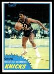 1981 Topps #27  Michael Ray Richardson  Front Thumbnail