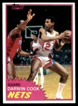 1981 Topps #77 E Darwin Cook  Front Thumbnail