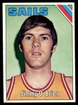 1975 Topps #317  Jimmy O'Brien  Front Thumbnail