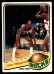 1979 Topps #91  Junior Bridgeman  Front Thumbnail