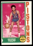 1974 Topps #76  George Trapp  Front Thumbnail