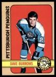 1972 Topps #82  Dave Burrows  Front Thumbnail