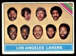 1975 Topps #212   Los Angeles Lakers Front Thumbnail