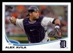 2013 Topps #343  Alex Avila  Front Thumbnail