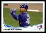 2013 Topps #468  Anthony Gose  Front Thumbnail