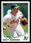 2013 Topps #496  Scott Sizemore  Front Thumbnail