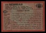 1983 Topps #318  Ed Newman  Back Thumbnail