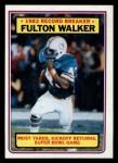 1983 Topps #9   -  Fulton Walker Record Breaker Front Thumbnail