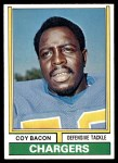 1974 Topps #20  Coy Bacon  Front Thumbnail