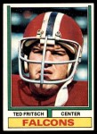 1974 Topps #81 ONE Ted Fritsch Jr  Front Thumbnail
