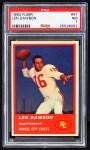 1963 Fleer #47  Len Dawson  Front Thumbnail