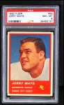 1963 Fleer #55  Jerry Mays  Front Thumbnail