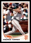 2013 Topps #393  Andres Torres  Front Thumbnail