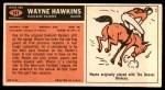 1965 Topps #141  Wayne Hawkins  Back Thumbnail