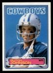 1983 Topps #48  Butch Johnson  Front Thumbnail