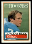 1983 Topps #62  Keith Dorney  Front Thumbnail