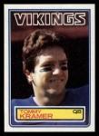 1983 Topps #102  Tommy Kramer  Front Thumbnail