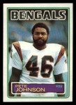 1983 Topps #237  Pete Johnson  Front Thumbnail