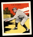 1933 Tattoo Orbit R305 #57  Rube Walberg   Front Thumbnail