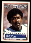 1983 Topps #354  Wesley Walker  Front Thumbnail