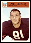 1966 Philadelphia #28  Doug Atkins  Front Thumbnail