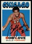 1971 Topps #45  Bob Love  Front Thumbnail