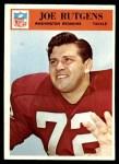1966 Philadelphia #190  Joe Rutgens  Front Thumbnail