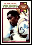 1979 Topps #470  Rickey Young  Front Thumbnail