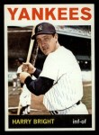 1964 Topps #259  Harry Bright  Front Thumbnail