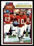 1979 Topps #117  Bucky Dilts  Front Thumbnail