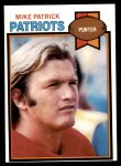 1979 Topps #158  Mike Patrick  Front Thumbnail