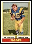1974 Topps #231  Jim Bertelsen  Front Thumbnail