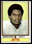 1974 Topps #175  Burgess Owens  Front Thumbnail