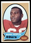 1970 Topps #207  Woody Peoples  Front Thumbnail