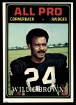1974 Topps #141   -  Willie Brown All-Pro Front Thumbnail