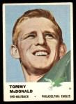 1961 Fleer #51  Tommy McDonald  Front Thumbnail