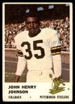 1961 Fleer #118  John Henry Johnson  Front Thumbnail