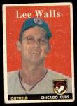 1958 Topps #66  Lee Walls  Front Thumbnail