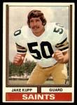 1974 Topps #204  Jake Kupp  Front Thumbnail