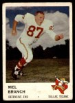 1961 Fleer #208  Mel Branch  Front Thumbnail