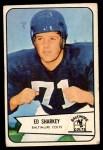 1954 Bowman #109  Ed Sharkey  Front Thumbnail