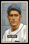 1951 Bowman #320  Hal White  Front Thumbnail
