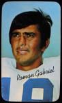 1970 Topps Super #25  Roman Gabriel  Front Thumbnail