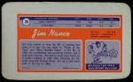 1970 Topps Super #26  Jim Nance     Back Thumbnail