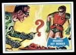 1966 Topps Batman Blue Bat Puzzle Back #4   Branded Boy Wonder Front Thumbnail