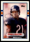 1989 Topps Traded #37 T Donnell Woolford  Front Thumbnail