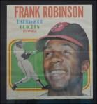 1970 Topps Poster #12  Frank Robinson  Front Thumbnail
