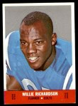 1968 Topps Stand-Ups #20  Willie Richardson  Front Thumbnail
