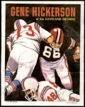 1970 Topps Poster #15  Gene Hickerson  Front Thumbnail